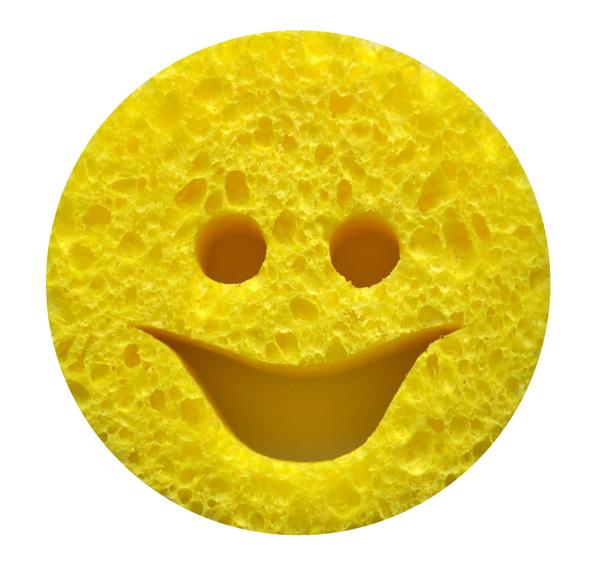 smiley szivacs